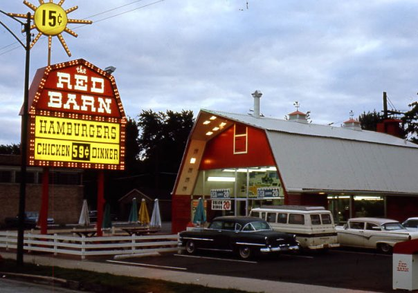 Red Barn Fast Food Restaurant